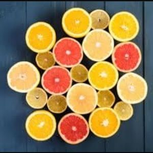 Citron Mandarin Scented Candle handmade handpoured